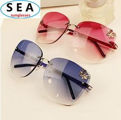 7c3241194c DESIGN Metal PINK vintage Butterfly Women Sunglasses flower fashion Oculos  De Sol NEW 2014 gafas sun