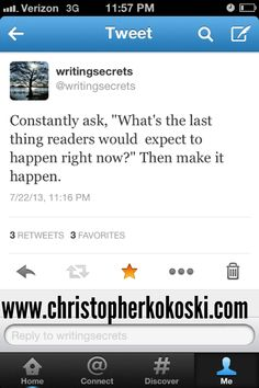 Love it! Some of the best, practical writing advice.