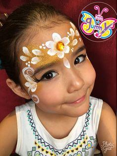 Face Painting Tutorials, Face Painting Designs, Girl Face Painting, Painting For Kids, Tinta Facial, Halloween Makeup, Halloween Face, Cool Face Paint, Kids Makeup