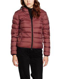 Ecoalf Asp Down Jacket Woman, Chaqueta para Mujer, 262/Roan Rouge, XL