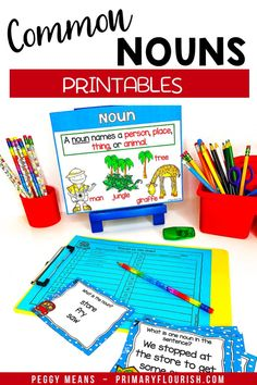 Proper Nouns Printables This Grammar Kit is packed with resources! You will find everything you nee Grammar Activities, Kids Learning Activities, Learning Resources, Fun Learning, Grammar Skills, Teaching Grammar, Easy Grammar, Primary Classroom, Elementary Teacher