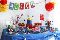 Aniversário Infantil Alice – mesa personalizada | Flickr – Compartilhamento de fotos!