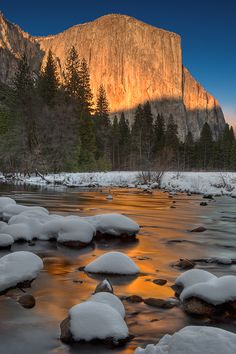 Yosemite in winter is even more spectacular - much less crowded and so quiet, especially if you snowshoe... Which is on my bucket list to do
