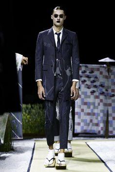 Thom Browne Menswear Spring Summer 2016 Paris - NOWFASHION