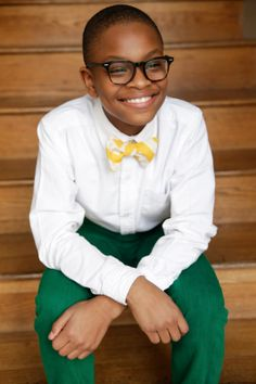Mo of Mo's Bows Memphis. Child entrepreneur will appear on Shark Tank, Friday, April 25, 2014.