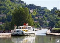 Boating through France via the canals-- must do