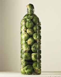 I heart brussel sprouts! Not me but others...
