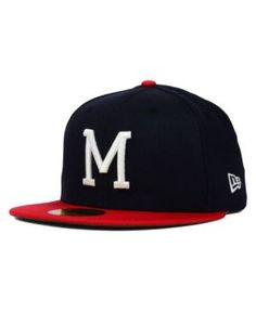 1d5e4422f88 New Era Milwaukee Braves MLB Cooperstown 59FIFTY Cap   Reviews - Sports Fan  Shop By Lids - Men - Macy s