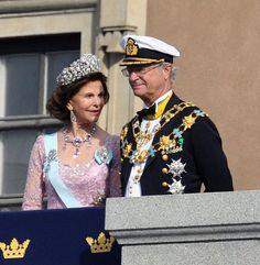 King of Sweden, Carl XVI Gustaf and Her Royal Highness, Queen Silvia