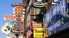 Welcome to Nashville - the capital of country music! #neon #signs #USA #kilroy
