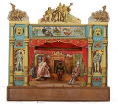 french toy theater 19th century - Buscar con Google