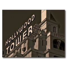 Hollywood, California postcard