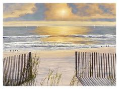 Beach Light Prints by Diane Romanello at AllPosters.com