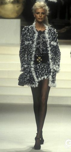 Nadja - Chanel, Spring-Summer 1994, Couture