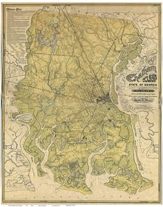 21 Best Georgia Old Maps images
