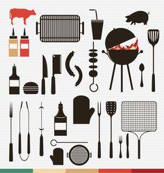 BBQ Infographics + webicons Download: http://graphicriver.net/item/barbecue-and-grill-icons-/4739733?WT.ac=portfolio_1=portfolio_author=Sztufi