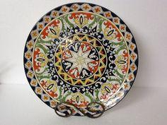 Lindo prato Italiano tamanho GG, usado tanto para decoração como para ocasiões especiais.