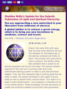 Sheldan Nidle Update~3-3-15~A new world is truly at hand!