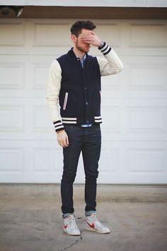 varsity jacket Streetstyle 2015