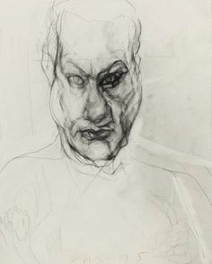 26 untitled self portraits, by Mike Parr :: The Collection :: Art Gallery NSW Arts Award, Australian Artists, Contemporary Art, Art Gallery, Sketches, Drawings, Portraits, Illustration, Prints
