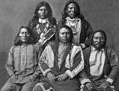 5 Shoshone Indians