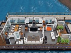 House 91 luxury house boat ground level #sims #simsfreeplay #simshousedesign
