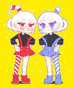 Cuphead and Muggirl by Vocaloid-Mirai on DeviantArt