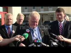 Toronto Mayor Rob Ford - Clip of Rob Ford through the years. Rob Ford, Canadian History, Toronto