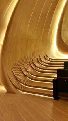 Heydar Aliyev Cultural Centre by Zaha Hadid, Baku featuring Radiant Architectural Lighting