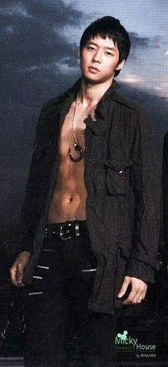 Micky Yoochun sexy.