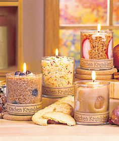 Kitchen Krumbler™ Dessert Candles