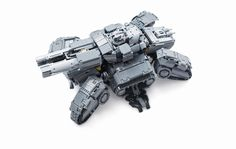 This fan made LEGO Siege Tank is much cooler than anything I've seen from the official Blizzard MegaBloks...