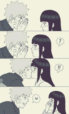 OMG! Naruto kiss Hinata !!! :D