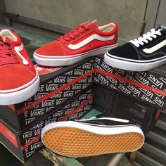 giày vans old skool red