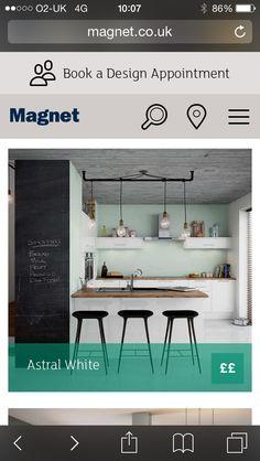 Blackboard wall in kitchen ?