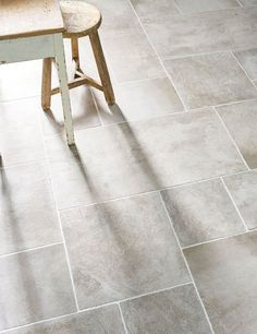 'Auvergne Grigio' Porcelain Tiles | Cleverly mimics the look of a traditional stone floor | Mandarin Stone
