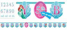 Little Mermaid Letter Banner 10 1/2ft