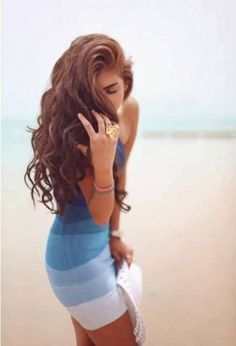 #Long And #Curly
