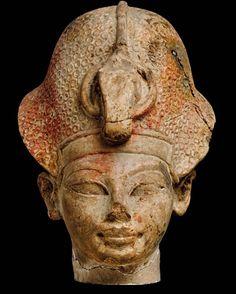 Portrait of Young Amenhotep IIIThe pharaoh Amenhotep III is...