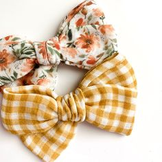 We search high and low for unique fabrics for our handmade bows! With so many bow shops to choose from, you'll love being able to find unique, well-made bows that will last for years to come! Baby Girl Bows, Girls Bows, Fabric Bows, Gauze Fabric, Bow Shop, Toddler Bows, Cute Bows, Cute Pattern, Baby Outfits