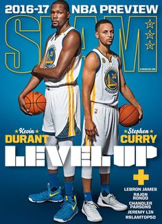 Sports Magazine Covers: Kevin Durant and Stephen Curry                                                                                                                                                                                 More