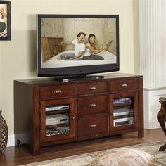 Castlewood 4 Drawer, 2 Door Entertainment Console With Adjustable Shelves  By Riverside Furniture   Willhite Furniture U0026 Sleep   TV Or Computer Unit
