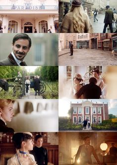 The Paradise - BBC Series - Beautiful sets, beautiful costumes, and a variety of good characters in interesting episodes.  I love it!