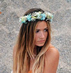 Classic Half dried flower crown. Real by SophieAndLunaFlowers