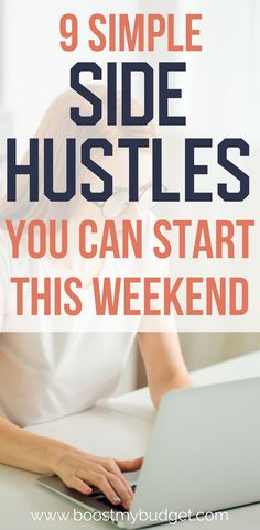 Need more money? Start a side business! This post has 9 easy side business ideas that you can start from home in a weekend. Most of these have no start up costs, and you can make money in just a few hours a week! Ways To Earn Money, Make Money Fast, Earn Money Online, Make Money Blogging, Online Jobs, Make Money From Home, Saving Money, Making Extra Cash, Work From Home Jobs