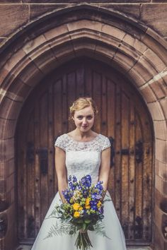 Fun and Quirky Wedding in England