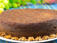 Chec cu nuci și ciocolată – un desert ultra pufos și ciocolătos, care îți va da simțurile peste cap !
