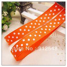 """Ann Fashion Accessories 3/8"""" 9mm dot Printed Ribbon grosgrain ribbon,Garment accessories,yd9002(China (Mainland))"""