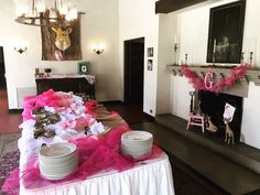 Accessorized dining room #kellogghouse #events #venue #shower #babyshower #catering #kellogghousecatering