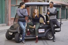 Bella Thorne, Carter Jenkins and Keith Powers in Famous In Love (1)